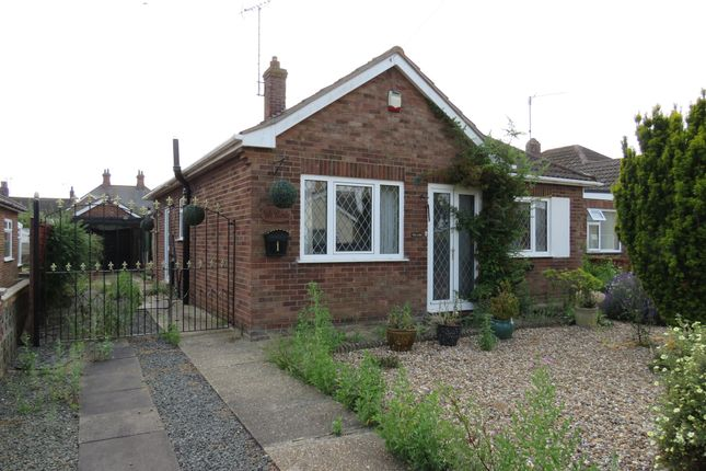 Thumbnail Detached bungalow for sale in Vinery Close, West Lynn, King's Lynn