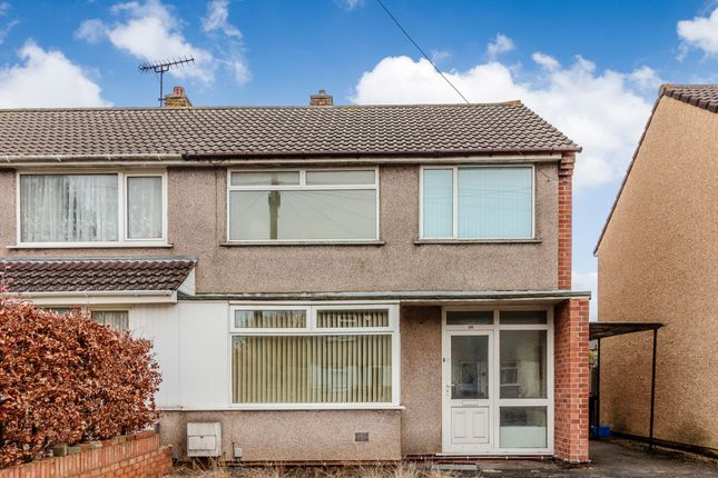 Thumbnail Semi-detached house for sale in Bradley Avenue, Bristol, South Gloucestershire