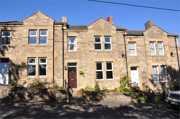 Thumbnail Terraced house for sale in South View, North Bank, Haydon Bridge