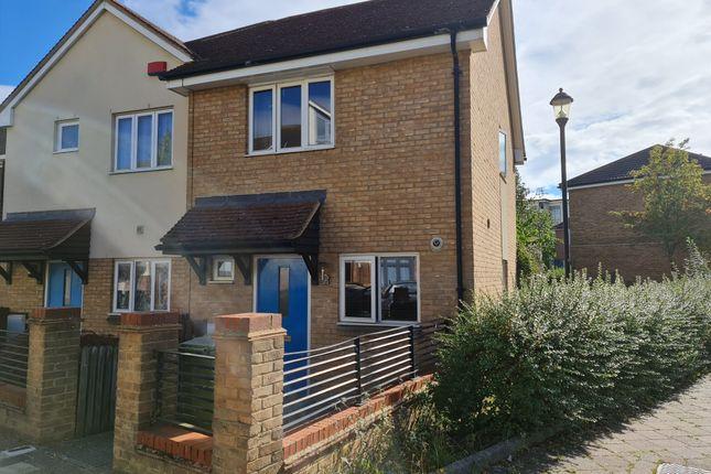 Thumbnail End terrace house for sale in Cavan Way, Broughton, Milton Keynes