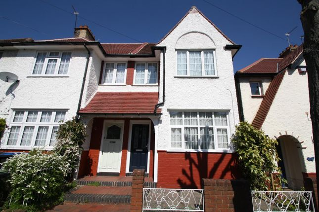Thumbnail End terrace house to rent in Greenwood Gardens, Palmers Green, London