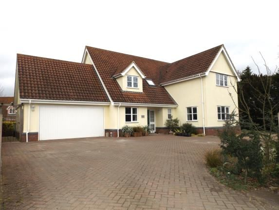 Thumbnail Detached house for sale in Banham, Norwich, Norfolk