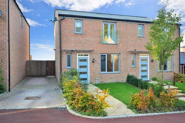Thumbnail Semi-detached house for sale in Chatham Reach, Amherst Hill, Gillingham, Kent
