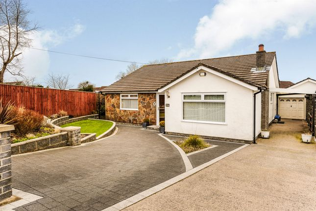 Thumbnail Detached bungalow for sale in Buckingham Place, Highlight Lane, Barry