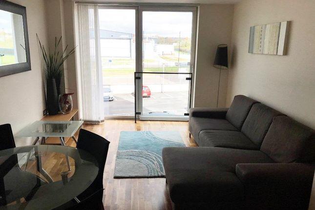 Living Room of City Loft, The Quays, Salford Quays M50