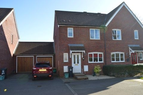 Thumbnail Semi-detached house for sale in Meadow Place, St. Georges, Weston-Super-Mare