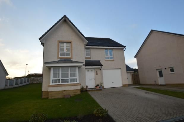 Thumbnail Detached house to rent in Balgownie Drive, Cumbernauld, Glasgow