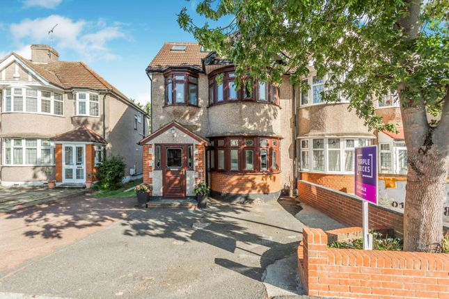 Semi-detached house for sale in Upper Brentwood Road, Romford