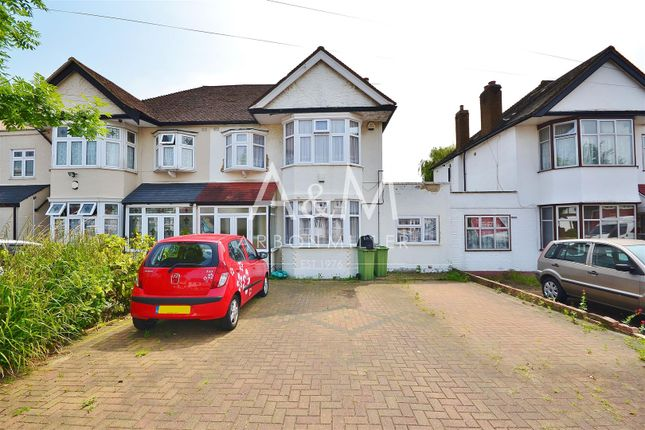Thumbnail Semi-detached house for sale in Chalgrove Crescent, Clayhall, Ilford