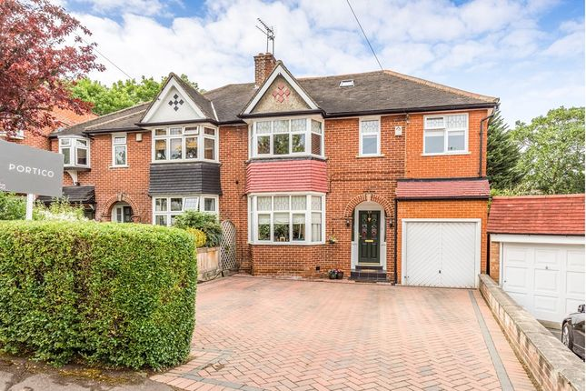 Thumbnail Semi-detached house for sale in St. Ronans Crescent, Woodford Green