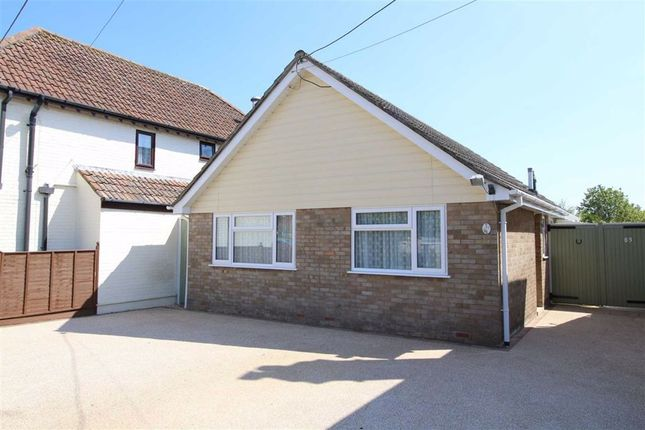 Thumbnail Detached bungalow for sale in Glenville Road, Walkford, Dorset