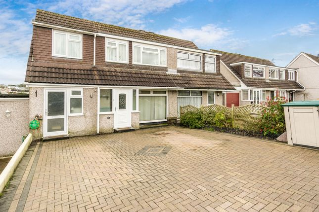 Thumbnail Semi-detached house for sale in Torbridge Close, Saltash