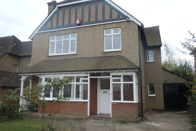 Thumbnail Detached house to rent in Hill Side, Cheam