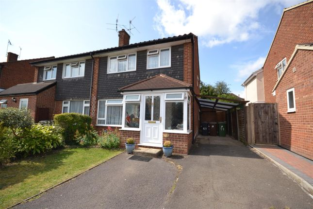 Thumbnail Semi-detached house for sale in Homefield Road, Bushey