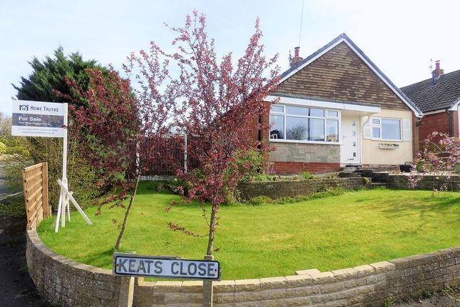Thumbnail Detached bungalow for sale in Keats Close, Eccleston, Chorley