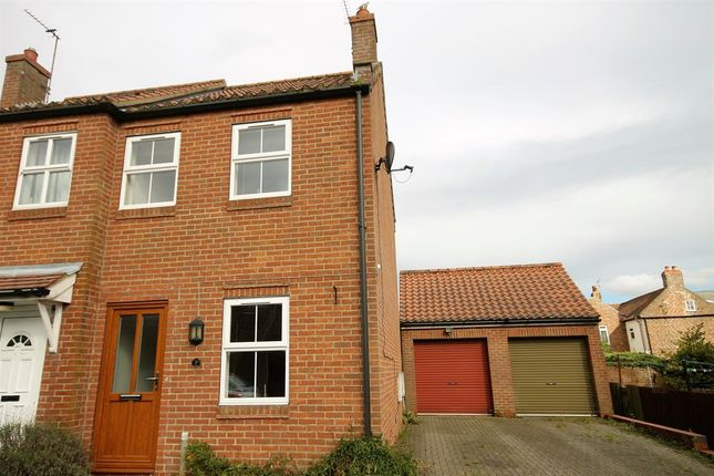 Thumbnail End terrace house to rent in Holme Road, Market Weighton, York