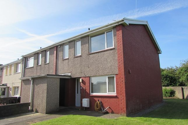 Thumbnail End terrace house for sale in Lougher Place, St. Athan, Barry