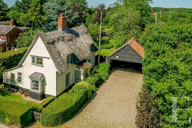 Thumbnail Detached house for sale in Ipswich Road, Nedging Tye, Ipswich