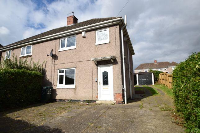 Thumbnail Semi-detached house to rent in Dene Avenue, Lemington, Newcastle Upon Tyne