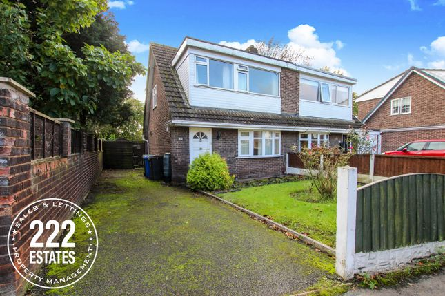 Thumbnail Semi-detached house for sale in Worsborough Avenue, Great Sankey, Warrington