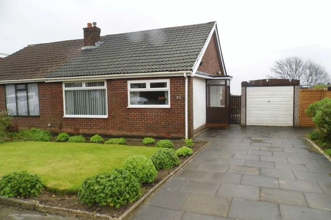 Thumbnail Semi-detached bungalow for sale in Bee Hive Green, Westhoughton, Bolton