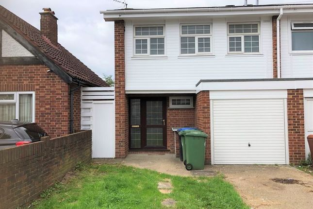 Thumbnail End terrace house to rent in Norton Road, Wembley, Middlesex
