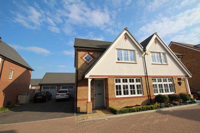 3 bed semi-detached house to rent in Bebington Link, Langdon Hills, Basildon, Essex SS16