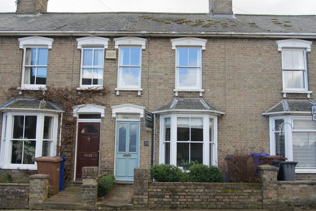 Thumbnail Terraced house for sale in Kings Road, Bury St. Edmunds