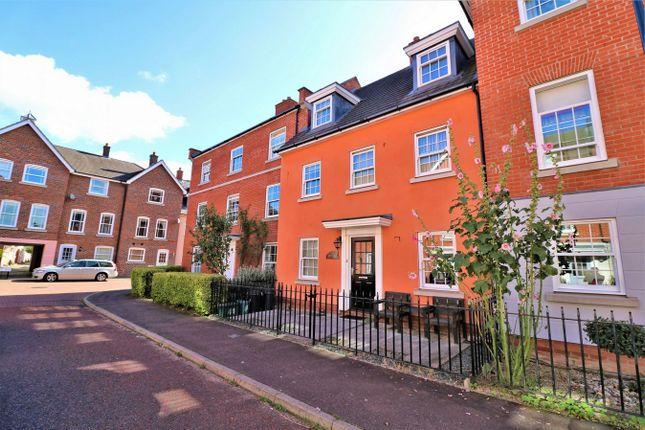 Thumbnail Town house for sale in Admirals Walk, Wivenhoe, Colchester, Essex