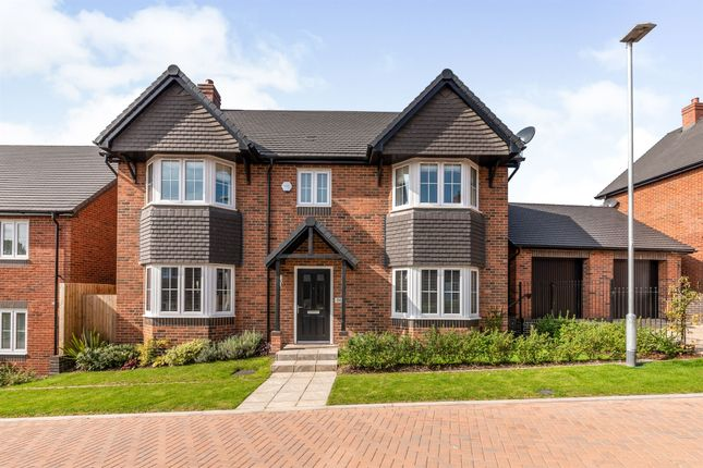 Thumbnail Detached house for sale in Geoff Morrison Way, Uttoxeter