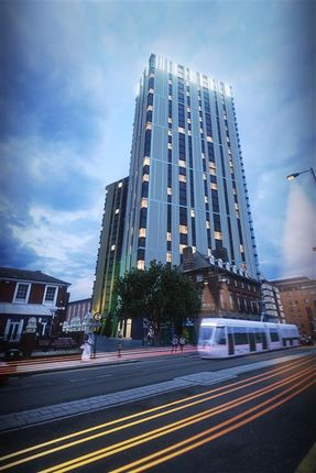 Thumbnail Penthouse for sale in Broad Street, Birmingham