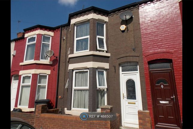 Thumbnail Terraced house to rent in Chelsea Road, Liverpool