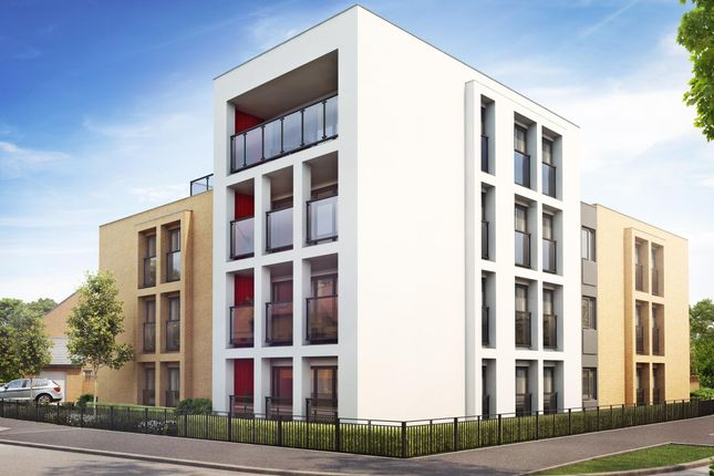 "Thumbnail Flat for sale in ""Landmark"" at Fen Street, Brooklands, Milton Keynes"