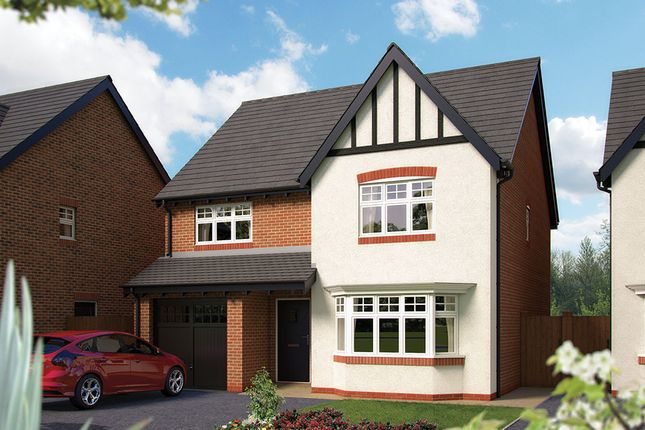 "Thumbnail Detached house for sale in ""The Haddon"" at Harbury Lane, Heathcote, Warwick"