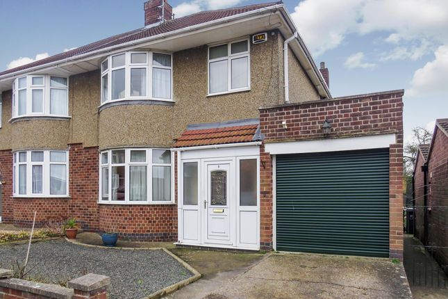 Thumbnail Semi-detached house for sale in Thornby Drive, Kingsthorpe, Northampton