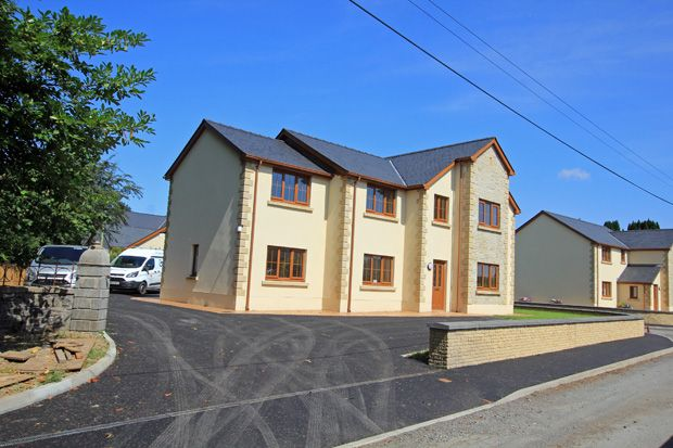 Thumbnail Detached house for sale in Glancothi Mansion, Alltyferin Road, Pontargothi, Carmarthen, Carmarthenshire