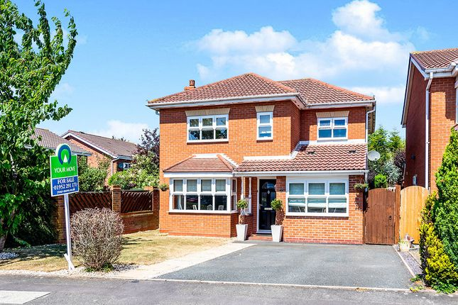 Thumbnail Detached house for sale in Rembrandt Drive, Shawbirch, Telford