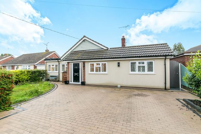 Thumbnail Detached bungalow for sale in Katonia Avenue, Mayland, Chelmsford