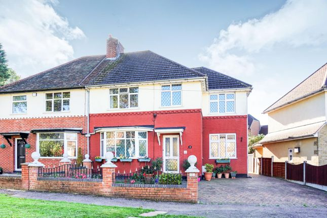 Thumbnail Semi-detached house for sale in Warleywoods Crescent, Brentwood