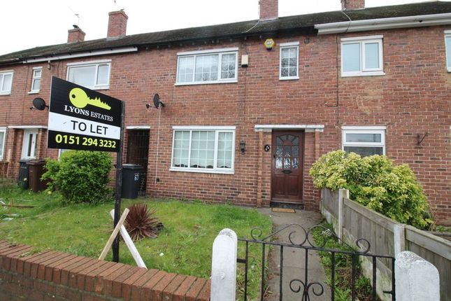 Thumbnail Property to rent in Poulsom Drive, Bootle