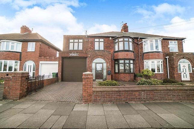 Thumbnail Semi-detached house for sale in Broadway, Blyth