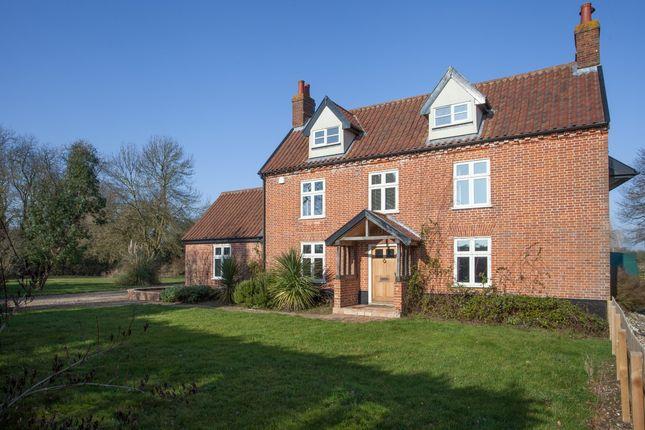 Thumbnail Detached house for sale in Wattlefield, Wymondham, Norwich