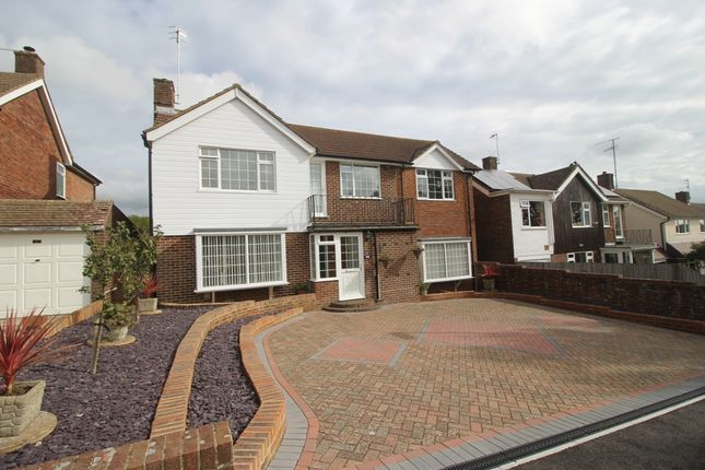 Thumbnail Detached house for sale in Ruskin Road, Willingdon Village, Eastbourne