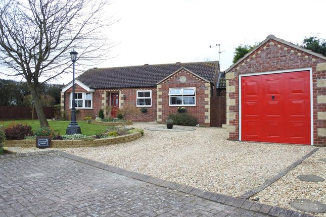 Thumbnail Detached bungalow for sale in Boundary Paddock, Navenby, Lincoln