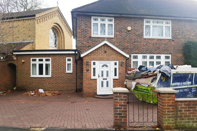 Thumbnail Semi-detached house to rent in Boniface Walk, Harrow