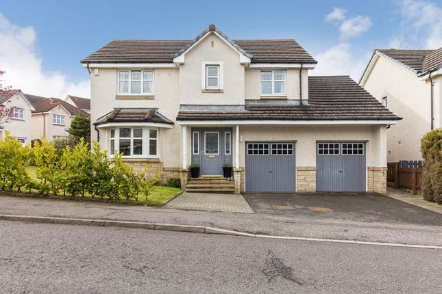 Thumbnail 4 bed detached house for sale in Dover Drive, Dunfermline