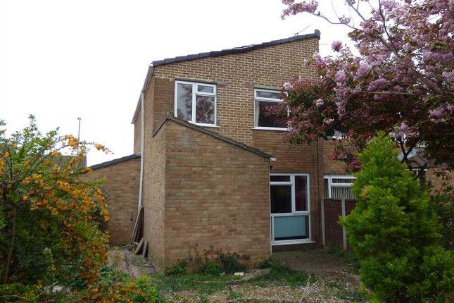 Thumbnail End terrace house to rent in Willow Close, Bulwark, Chepstow