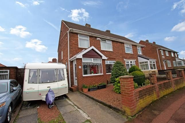 Thumbnail Semi-detached house for sale in Brookvale Avenue, Kenton, Newcastle Upon Tyne, Tyne And Wear