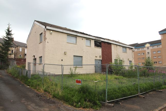 Thumbnail Land for sale in Leslie Street, Motherwell, North Lanarkshire