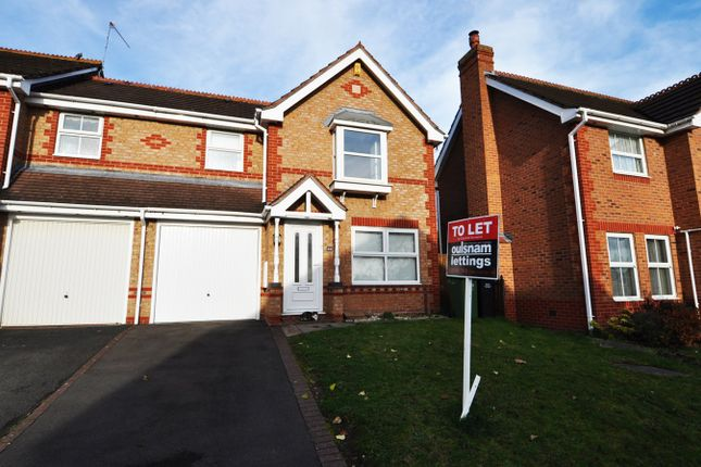 3 bed semi-detached house to rent in Calder Close, Droitwich, Worcestershire